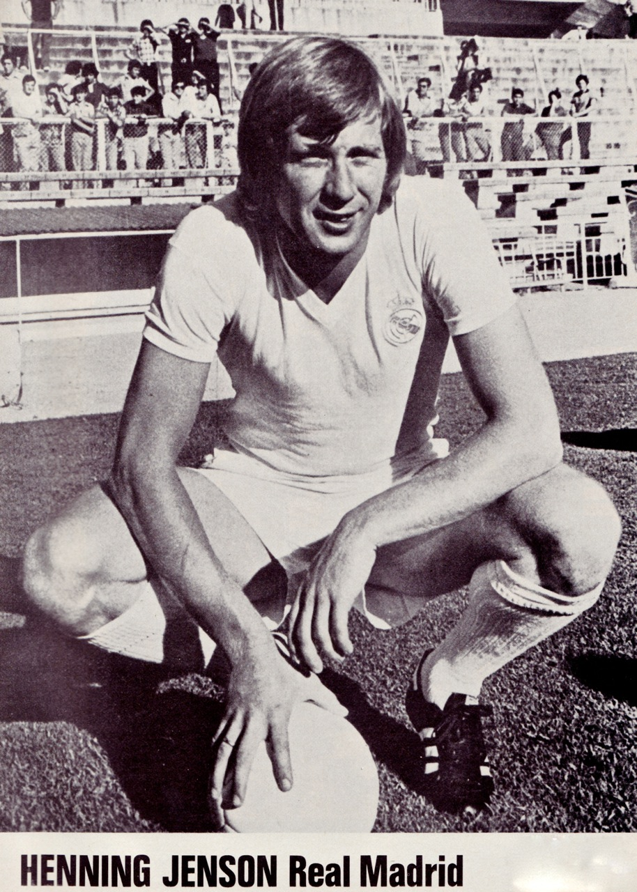 henning jensen real madrid 1976