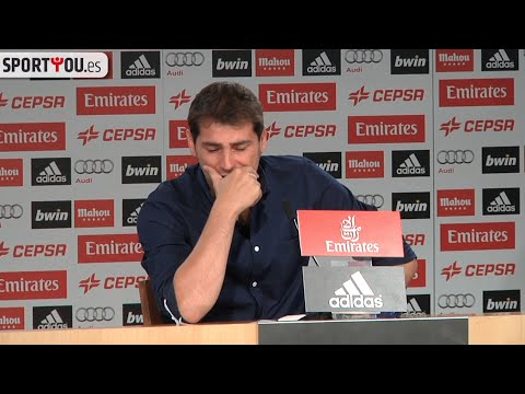 Casillas despedida