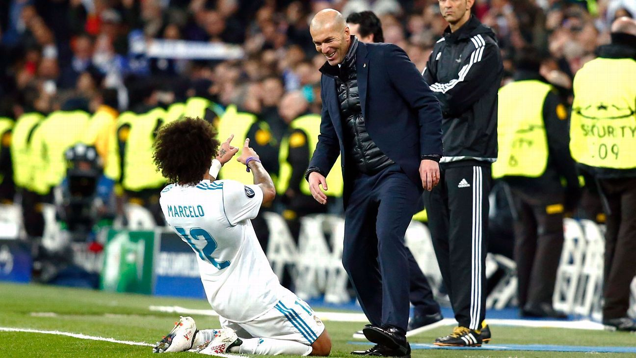 madrids comeback built on character grit of zidane ronaldo and marcelo